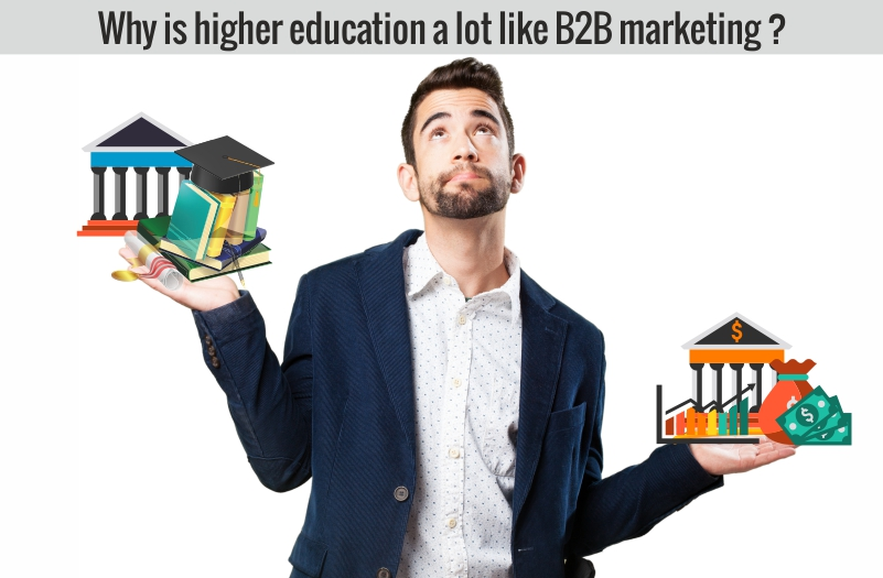 b2b marketing - higher education