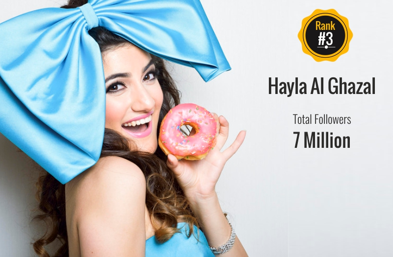 hayla al ghazal - social media influencer