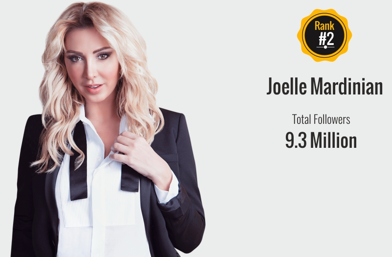 joelle mardinian - social media influencer