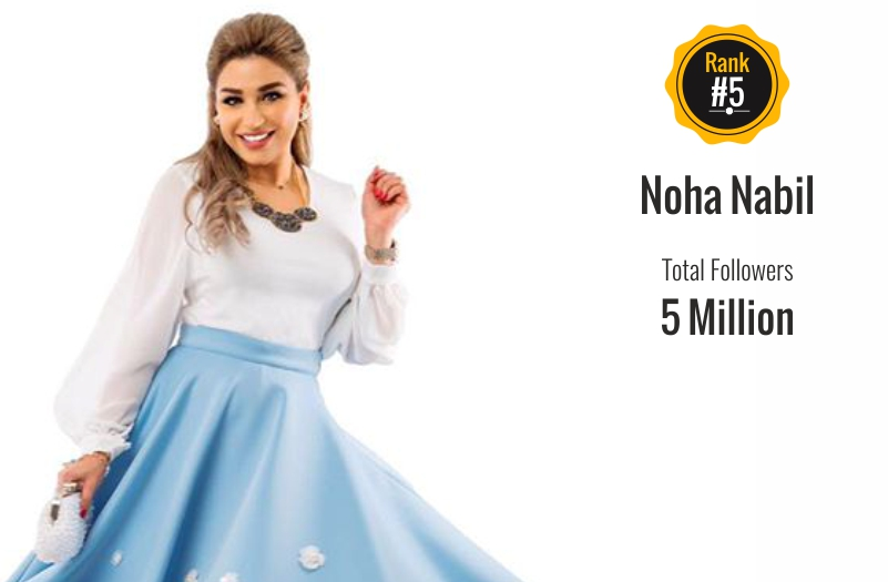 noha nabil - social media influencer