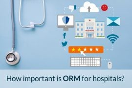 online reputation management for hospitals